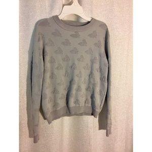 Grey Bunny Rabbit Sweatshirt